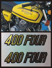Adesivo Fiancatine  Honda Four 400 gialla - adesivi/adhesives/stickers/decal