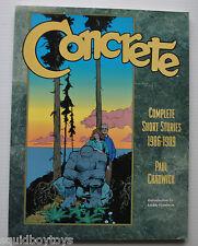 Concrete Complete Short Stories 1986-1989 Paul Chadwick 1995 Archie Goodwin