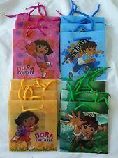 12 pcs Dora the Explorer & Diego Goody Gift Bag Nick Jr Licensed Party Favors