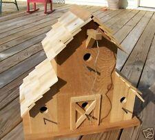 Western Cedar Barn Birdhouse PATTERN & INSTRUCTIONS