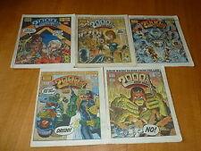 2000 AD Comic - 5 PROG JOB LOT - Progs 460 too 464 Inclusive - UK Paper Comic