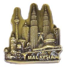 Kuala Lumpur Malaysia Tourist Travel Souvenir 3D Metal Fridge Magnet Gift