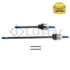 2PC Front Outer CV Joint Axle Shaft Assembly Pair Set Fits Jeep Wagoneer
