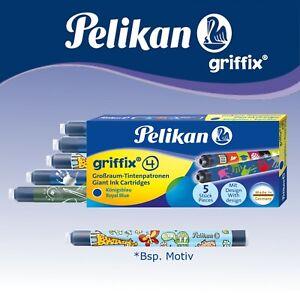 Pelikan Patronen Griffix 4 Tintenpatronen Füller Füllhalter  Patronfüller