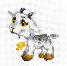 RIOLIS  HB154  Petite chèvre  Kit  Broderie  Point de croix  facile