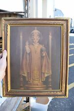 """+ Older Framed Print of """"The Infant of Prague"""" + + + chalice co. + (FA541)"""
