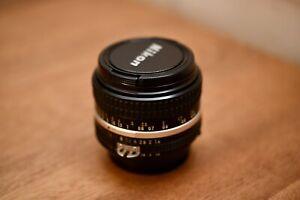 NIKON Ai NIKKOR 50mm F1.4S Ai-S MF Lens