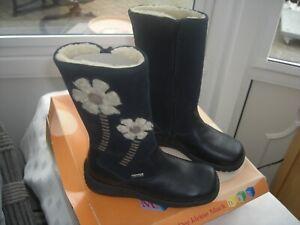 DKM  BLUE BOOTS  UK 12 EU 31  great keeps feet dry M-TEX PRICE £15.00