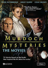Murdoch Mysteries: The Movies (DVD, 2015, 3-Disc Set) English Drama