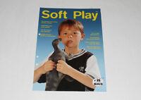 Bully Händler-Katalog 7 / 2000 === Faltblatt Figuren Werbung Dinos Soft Play