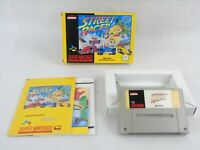 Street Racer SNES Super Nintendo Complete Boxed PAL + Poster
