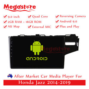 """9"""" Android 10.1 Quad Core Car non DVD Media Player GPS For Honda Jazz 2014-2019"""
