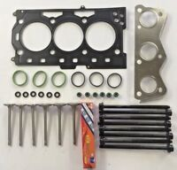 HEAD GASKET SET BOLTS VALVES IBIZA FABIA FOX VW POLO 1.2 6V 2002 on 54 60 BHP
