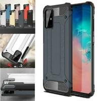 For Samsung Galaxy A51 SM-A515F Shockproof TOUGH Armour Black Phone Case Cover