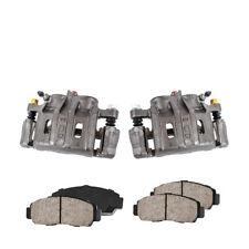 Front OE Brake Calipers Pair + Ceramic Pads For Eagle Talon Mitsubishi Eclipse