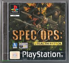 PS1 Spec Ops Stealth Patrol, UK Pal (2000), Brand New & Factory Sealed