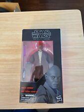 Hasbro Star Wars The Black Series Mace Windu Toy 6-inch Scale