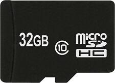 Carte Micro SD UHS-1 32 GB Class10 Mémoire Pour HTC Desire 500 + One Sv