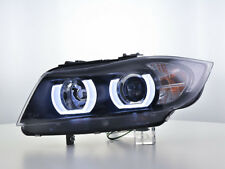 Scheinwerfer Daylight LED TFL-Optik BMW 3er E90/E91 Bj. 05-08 schwarz