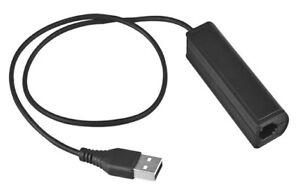 RJ9 To USB Headset Adapter For Plantronics Jabra Sennheiser DECT Computer Laptop