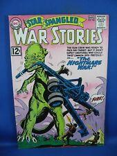 STAR SPANGLED WAR STORIES 106 F VF DINOSAUR COVER 1962