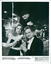 1989 Michael Douglas Danny DeVito Kathleen Turner Original News Service Photo