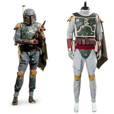 Star Wars Boba Fett Cosplay Costume Halloween Uniform Carnival Suit Outfit