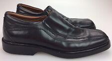 JOHNSTON MURPHY XC4 Waterproof Dual Width Black Sheepskin Loafers Shoes Mens 14M