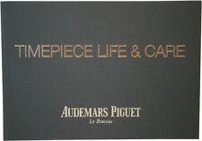 Audemars Piguet Le Brassus Watch Instructions Booklet Manual Guide