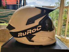 Ruroc Berserker Carbon Helmet - Ghost