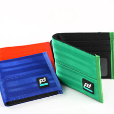JDM Racing TTAKATTA Drift Seat Belt Nylon Bifold Men's Wallet Car Leather Purse