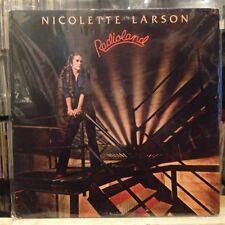 EXC LP~NICOLETTE LARSON~Radioland~[ 1980~WARNER BROS.]