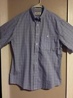 EUC>>Men's>>Shirt>>Orvis>>Size L>>Short Sleeve>>Button Down>>100% Cotton