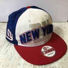 New York Giants NFL Bleu Blanc Rouge Snapback Hat Cap