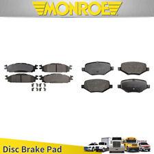 Monroe Prosolution Ceramic Brake Pad 8pcs Front Rear For 2011-2012 FORD EXPLORER