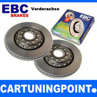 EBC Discos de freno delant. PREMIUM DISC PARA MITSUBISHI PAJERO SPORT K90 D677
