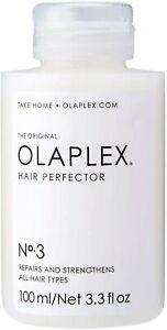(Sealed New) Olaplex Hair Perfector No 3 Repairing Treatment 3.3 fl oz/100 mL