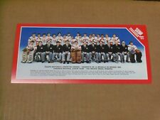 1983 Canadien National Junior Team, MINI TEAM POSTER, Scarce and Clean