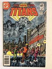 New listing New Teen Titans #26 Vol. 3 / 1st Appearance Of Terra / Dc Comics 1982