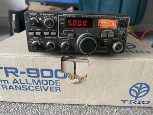 Trio Tr-9000 2m multimode ssb/kenwood/yaesu/icom/ Teamseiver Boxed With Mic Etc