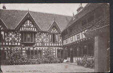 Warwickshire Postcard - Courtyard, Leicester's Hospital, Warwick   RS2837
