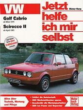 VW GOLF 1 CABRIO, Reparaturanleitung Jetzt helfe ich mir selbst Handbuch/Wartung