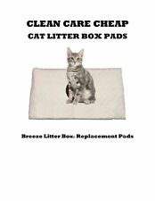 40 Clean Care Cat Litter Box Liner Pads for Breeze Litter Box Systems
