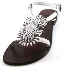 Sandalias y chanclas de mujer de color principal blanco Talla 36