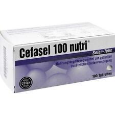 CEFASEL 100 nutri Selen Tabs Tabletten 100St Tabletten PZN 4522592