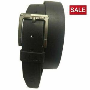 Men's Wide Leather Belt Black Jeans Trousers Adjustable Belts Designer Belt