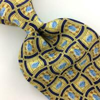 PFIZER TIE VIAGRA For Men Pills Tablets GOLD BLUE Medicine Silk Necktie New L4
