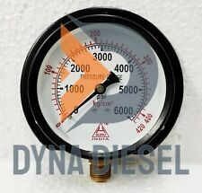 Pressure Gauge Dual Scale 0 420 Kg Amp 0 6000 Psi 38 Bsp High Quality