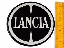 LANCIA ★ 4 Stück ★ SILIKON Ø90mm Aufkleber Emblem Felgenaufkleber Radkappen