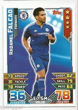 2015 / 2016 EPL Match Attax Base Card (70) Radamel FALCAO Chelsea